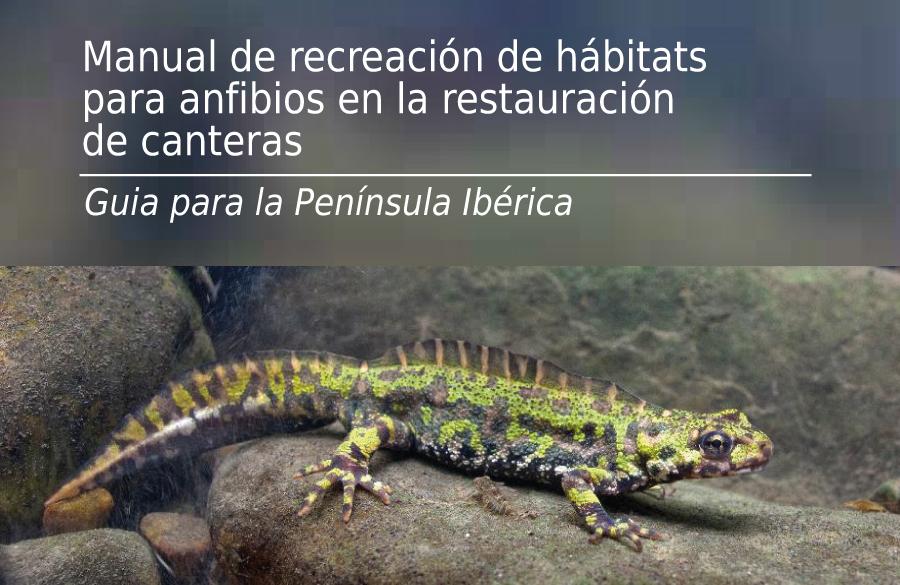 MANUAL DE RECREACIÓN DE HÁBITATS PARA ANFIBIOS